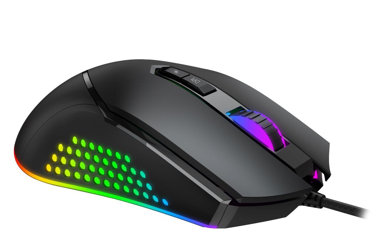 Mouse Gamer Evolut Balder EG-107 RGB programável