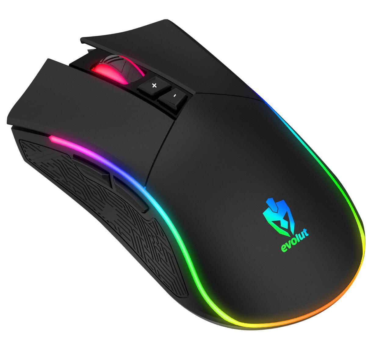 Mouse Gamer Evolut Skadi EG-106 Rgb Led 7 Botões