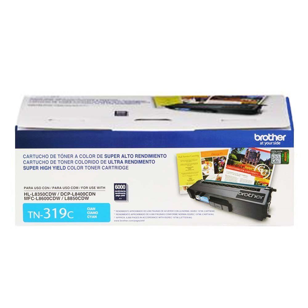 Toner Brother TN-319C Original Ciano