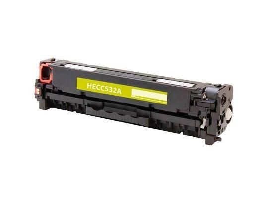 Toner  Green Compativel Novo CC532A Amarelo