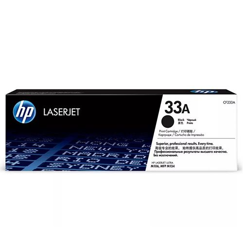 Toner HP Original LaserJet 33A Preto - CF233A