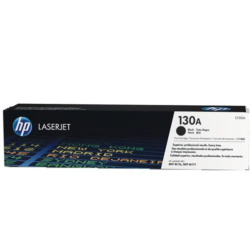 Toner Preto HP LaserJet HP 130A original (CF350A)