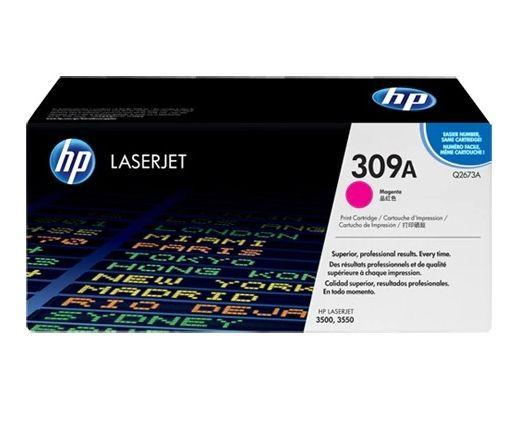 Toner HP LaserJet Original 309A Magenta Q2673A