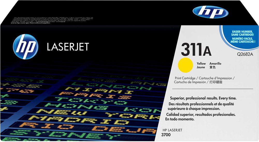 Toner HP LaserJet Original 311A Amarelo Q2682A