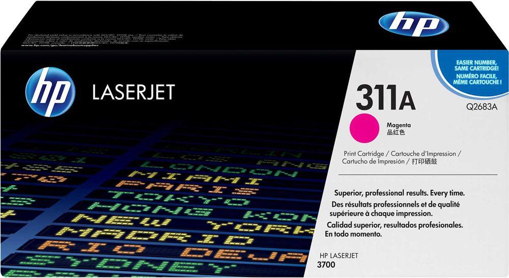 Toner HP LaserJet Original 311A Magenta Q2683A