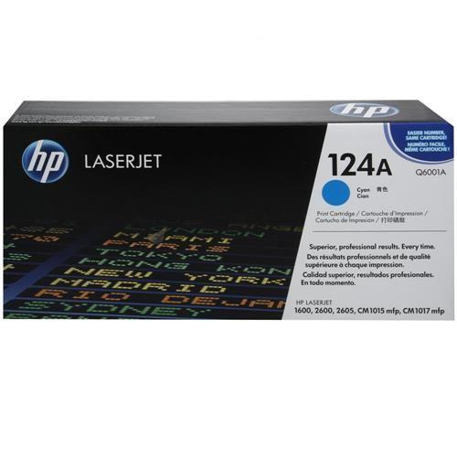 Toner LaserJet ciano HP 124A Original (Q6001A)