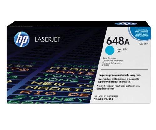 Toner LaserJet ciano HP 648A Original CE261A/AC