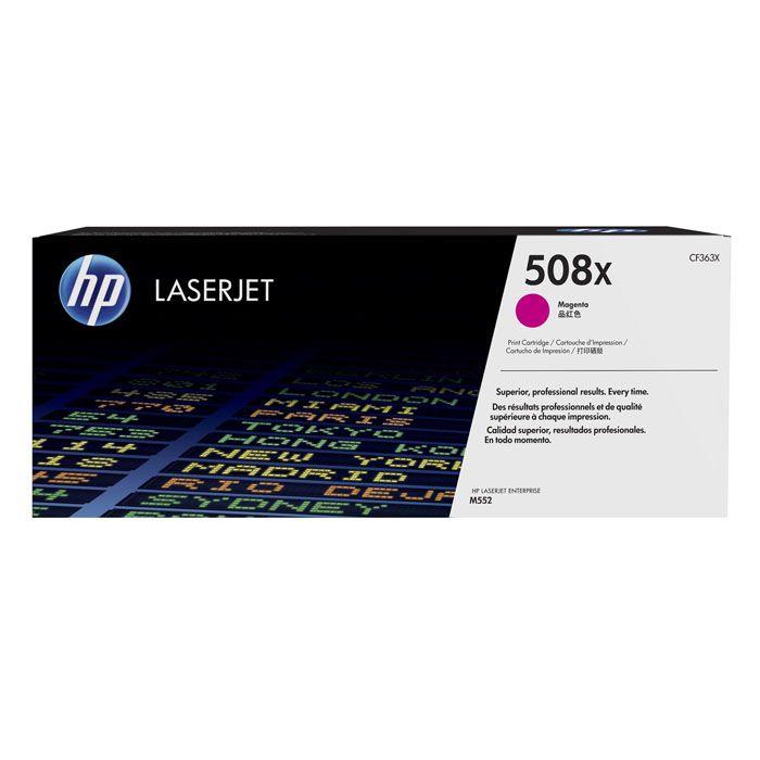 Toner LaserJet magenta de alto rendimento HP 508X Original (CF363X)