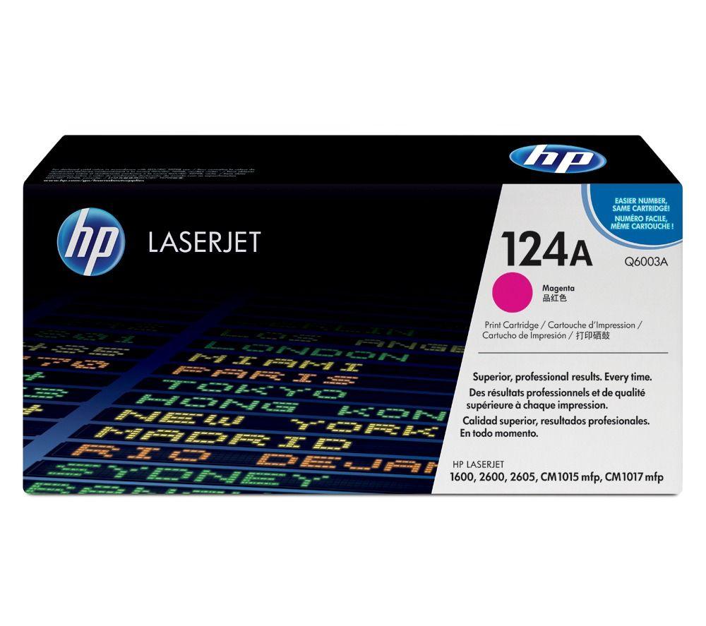 Toner LaserJet magenta HP 124A Original (Q6003A)