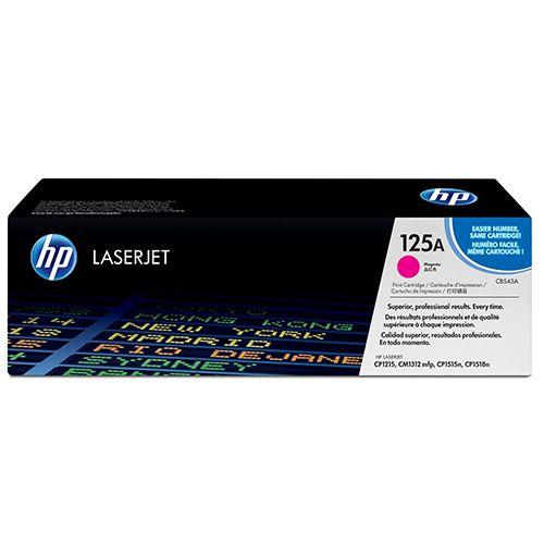 Toner LaserJet magenta HP 125A Original (CB543A)