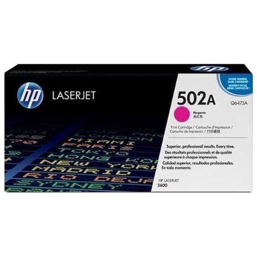 Toner LaserJet magenta HP 502A Original (Q6473A)