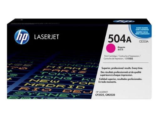 Toner LaserJet magenta HP 504A Original (CE253A)