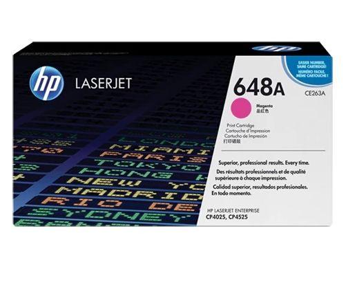 Toner LaserJet magenta HP 648A Original CE263A/AZ