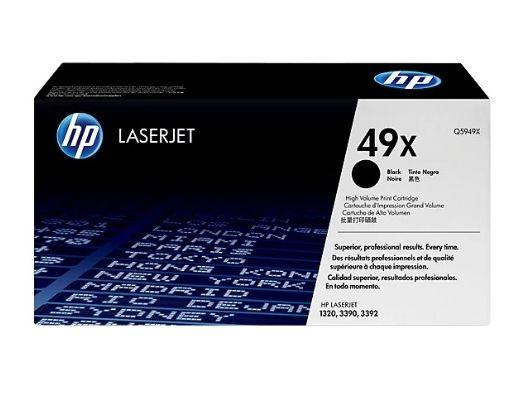 Toner LaserJet preto alto rendimento HP 49X Original (Q5949X)