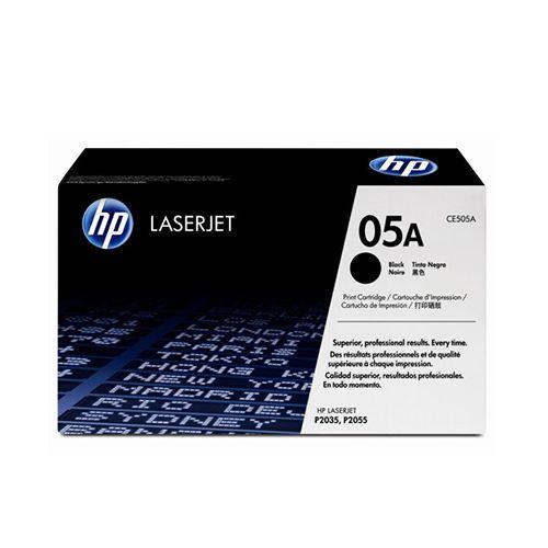 Toner LaserJet preto HP 05A Original CE505AB/ AC