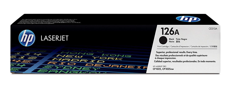 Toner LaserJet preto HP 126A Original (CE310A)