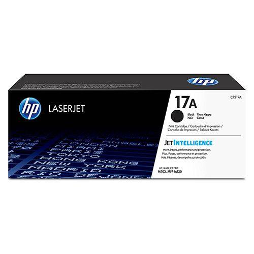 Toner LaserJet preto HP 17A Original (CF217A)