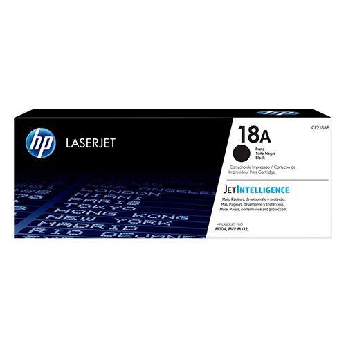 Toner LaserJet preto HP 18A Original CF218A