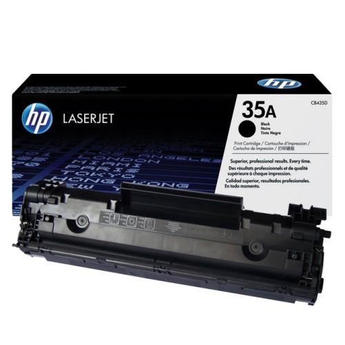 Toner LaserJet preto HP 35A Original (CB435A)