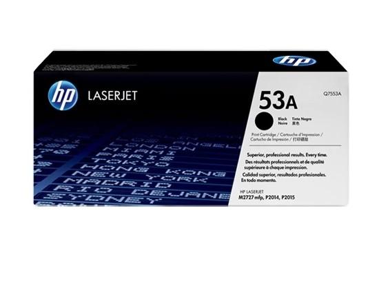 Toner LaserJet preto HP 53A Original (Q7553A)