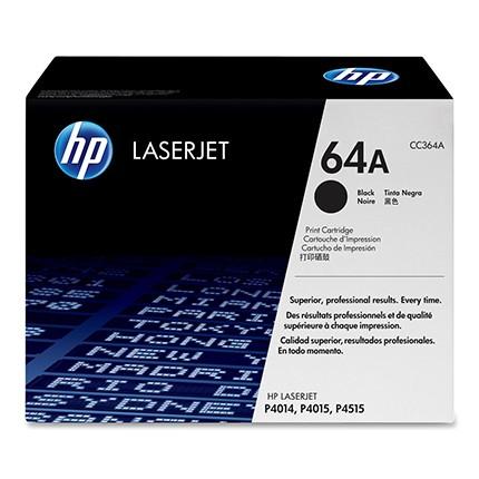 Toner LaserJet preto HP 64A Original (CC364A)