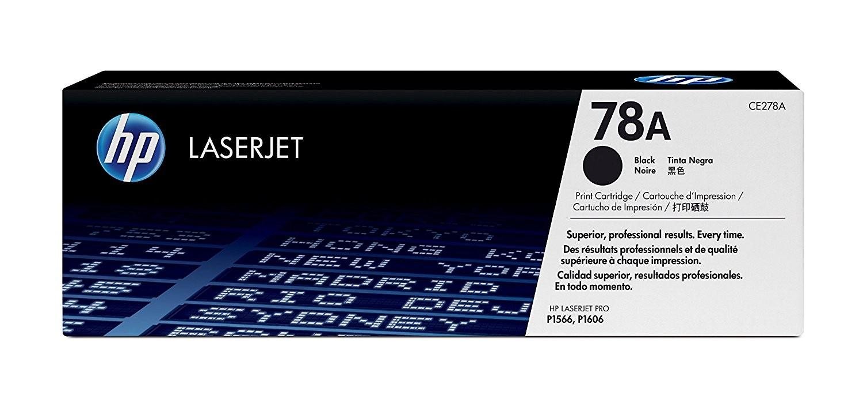 Toner LaserJet preto HP 78A Original (CE278AB)