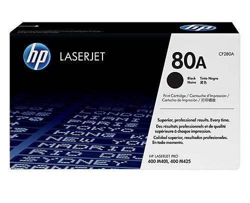 Toner LaserJet Preto HP 80A Original CF280A