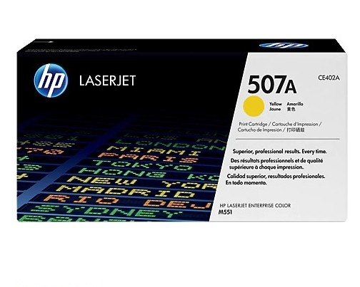 Toner LaserJet yellow HP 507A Original CE402A/ AZ