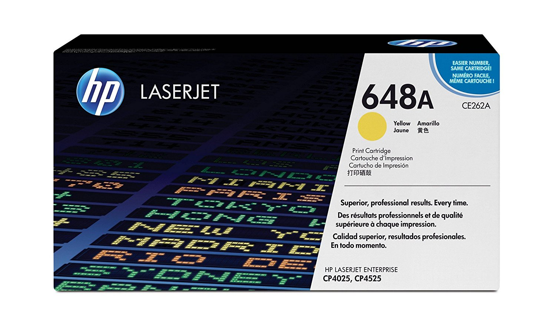 Toner HP Original LaserJet  648A Amarelo CE262A / AZ