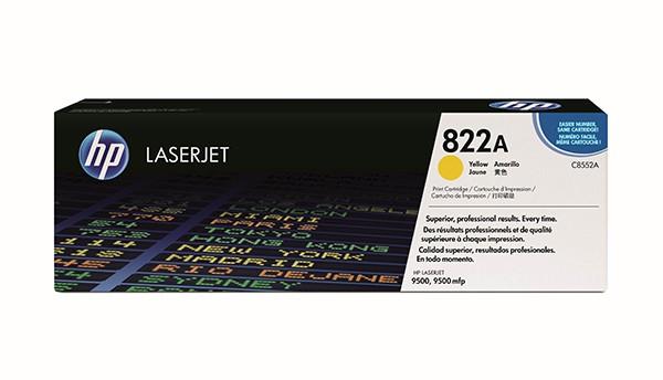 Toner HP Original C8552A Clj9500 Amarelo