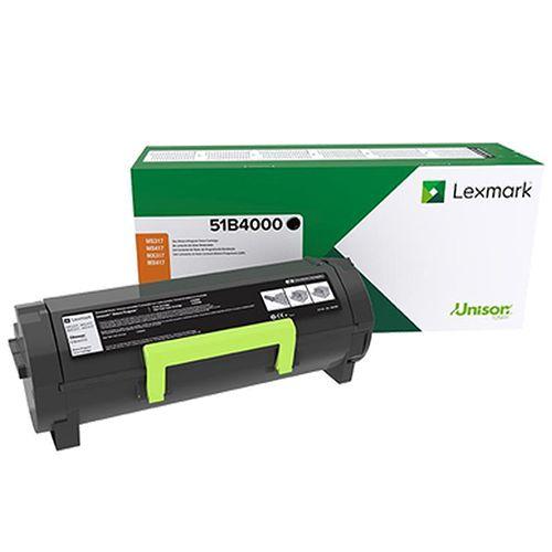 Toner Lexmark 51B4000 2.5K - MS/MX 317/417/517 Preto