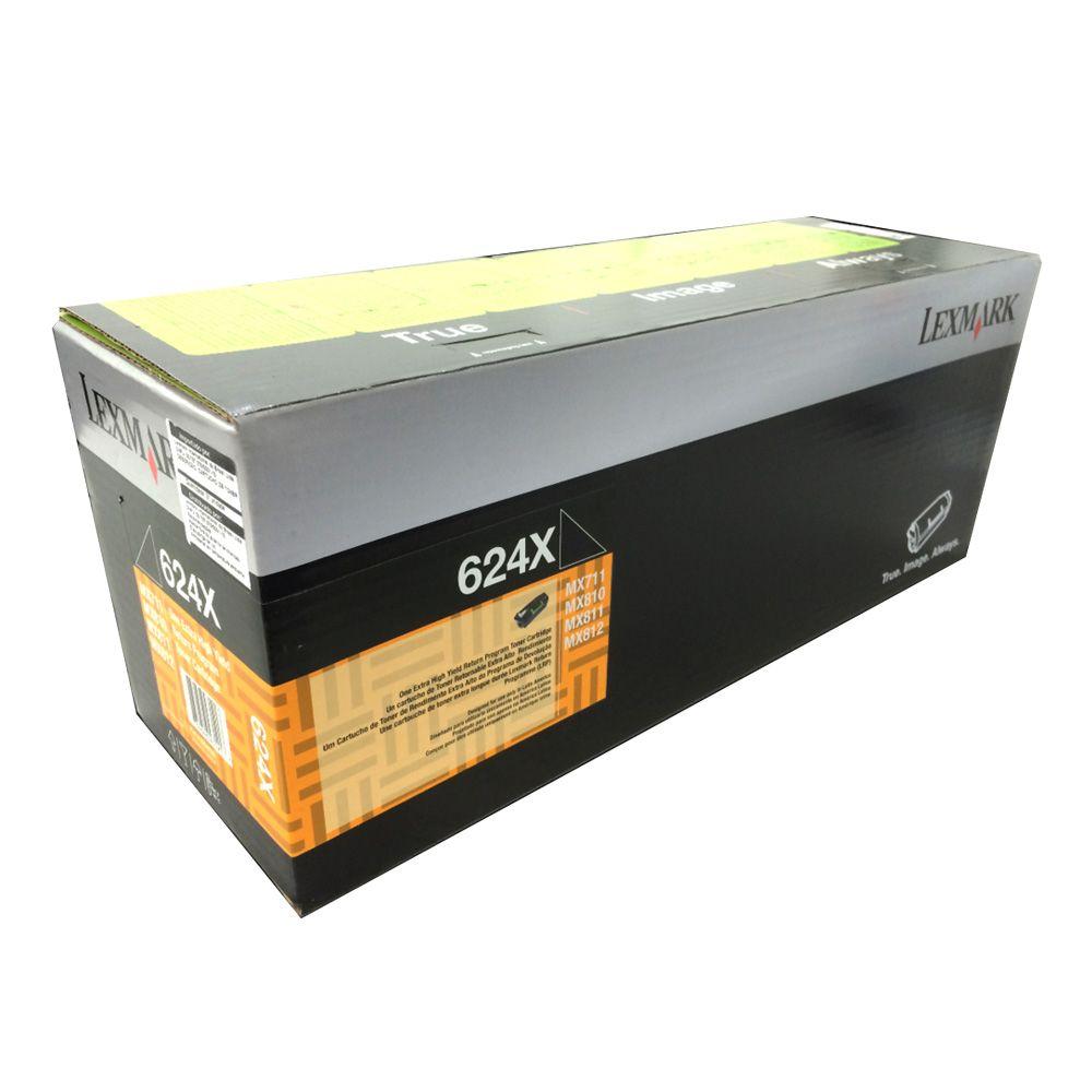 Toner Lexmark 62DBX00 - Preto
