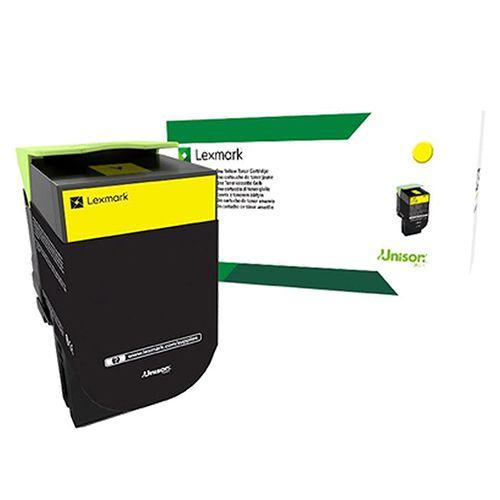 Toner Lexmark 78C4XY0 Amarelo p/ 5.000 páginas