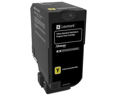 Toner Lexmark - Amarelo - 7K - 74C4SY0