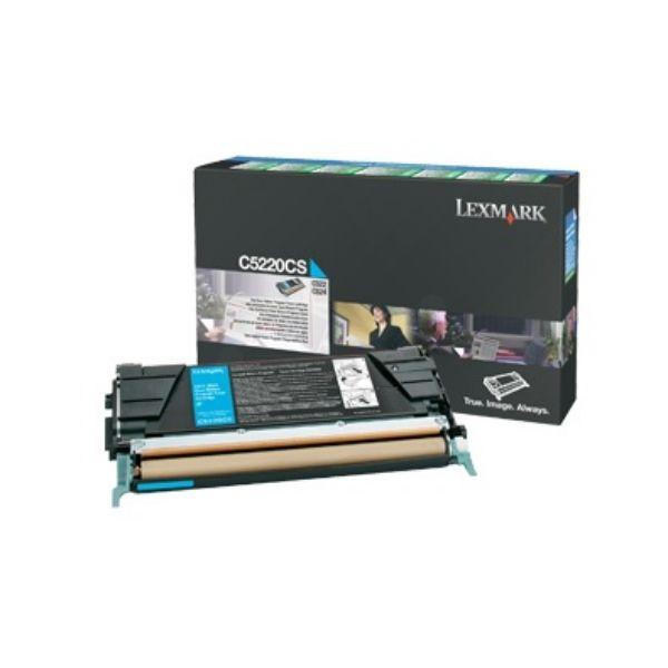 Toner Lexmark C5220CS - Ciano
