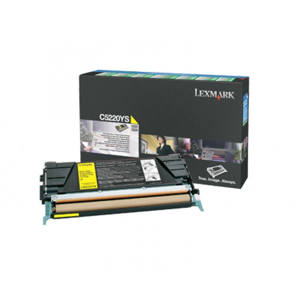Toner Lexmark C5220YS - Amarelo