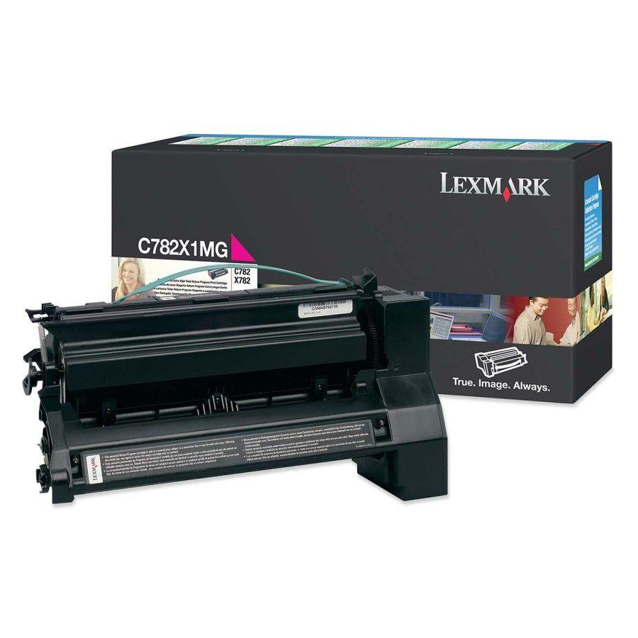 Toner Lexmark C782X1MG Magenta - C782X1MG