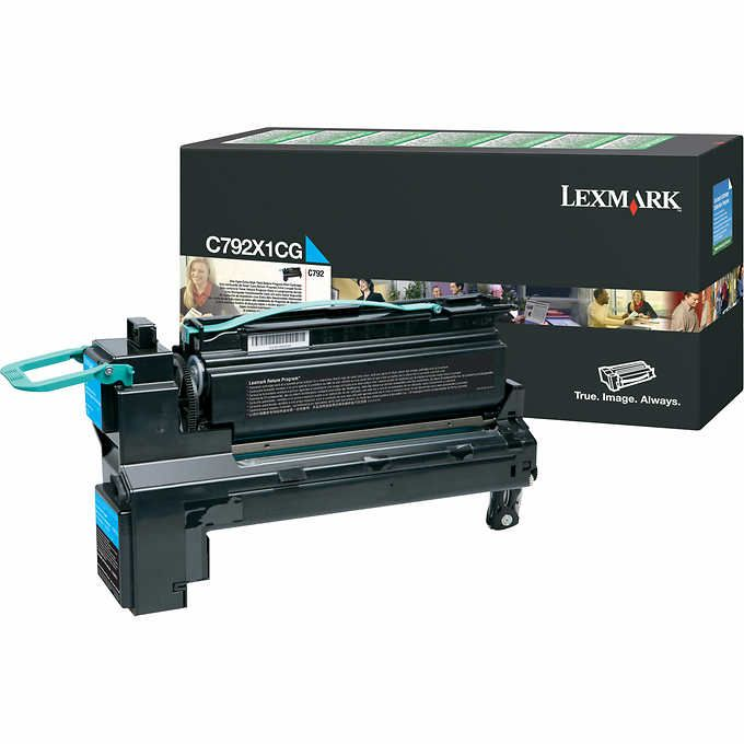 Toner Lexmark C792 Ciano - C792X1CG