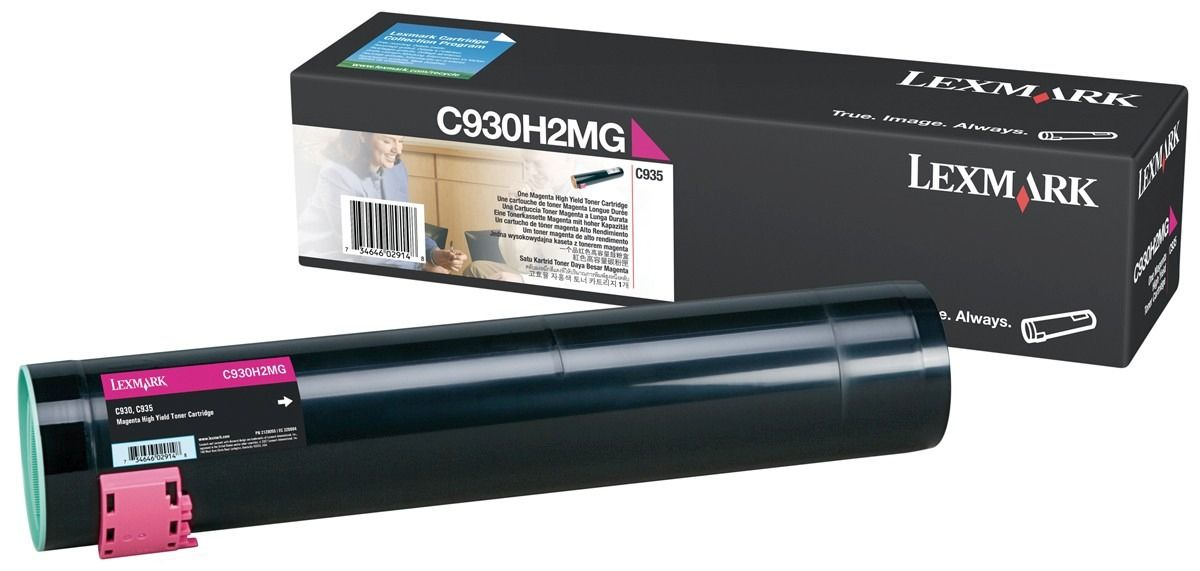 Toner Lexmark C930/935 Magenta - C930H2MG