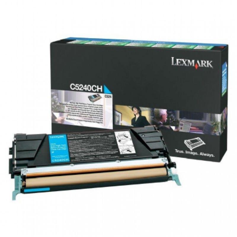 Toner Lexmark Ciano - C5240CH