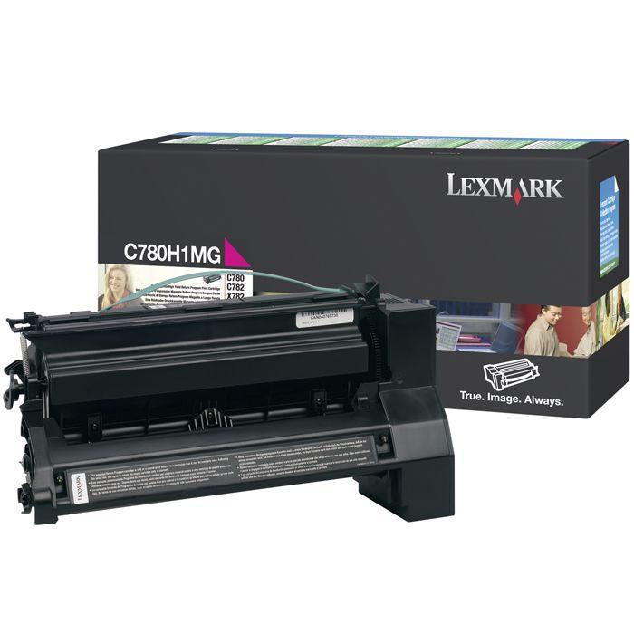 Toner Lexmark Magenta - C780H1MG