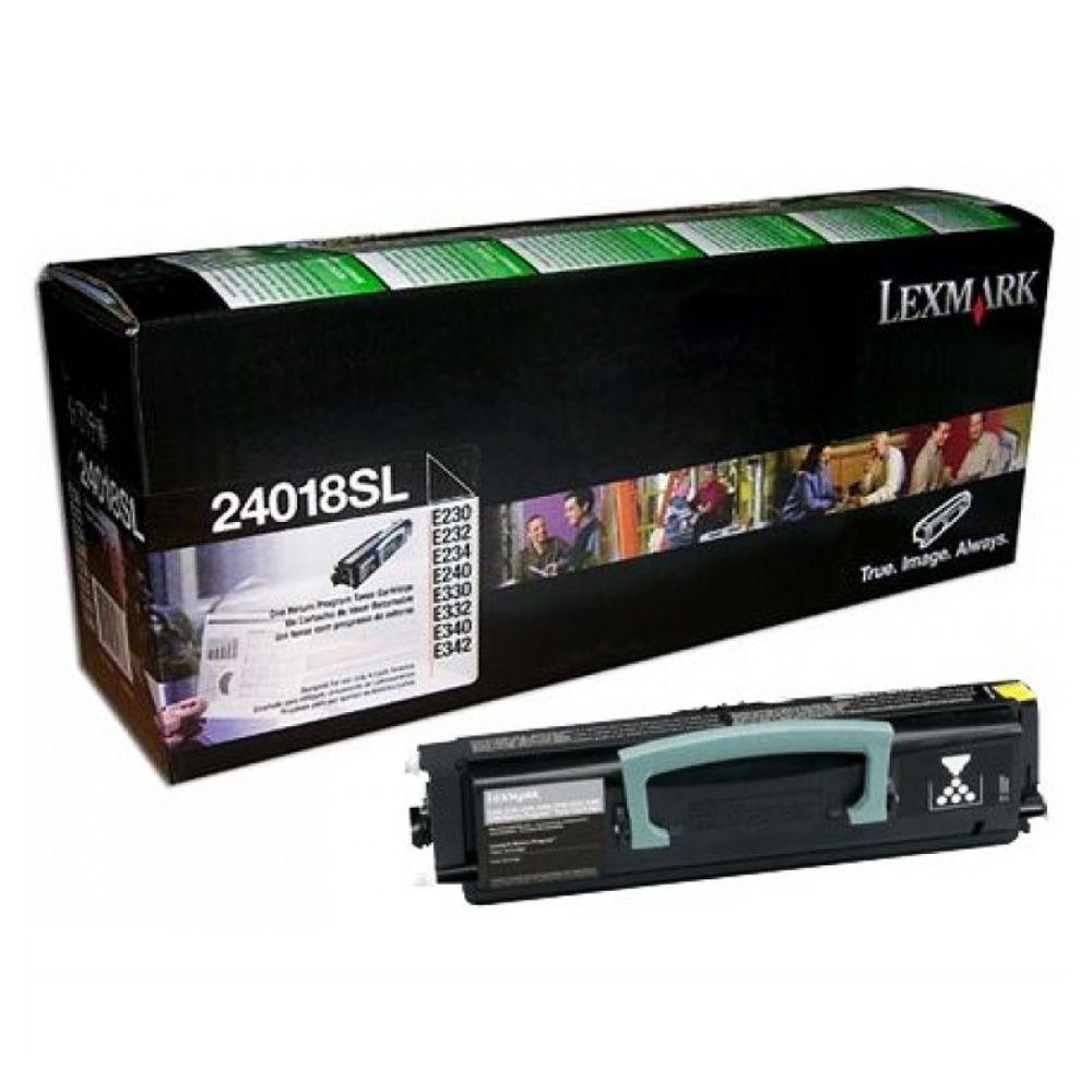 Toner Lexmark Preto - 24018SL