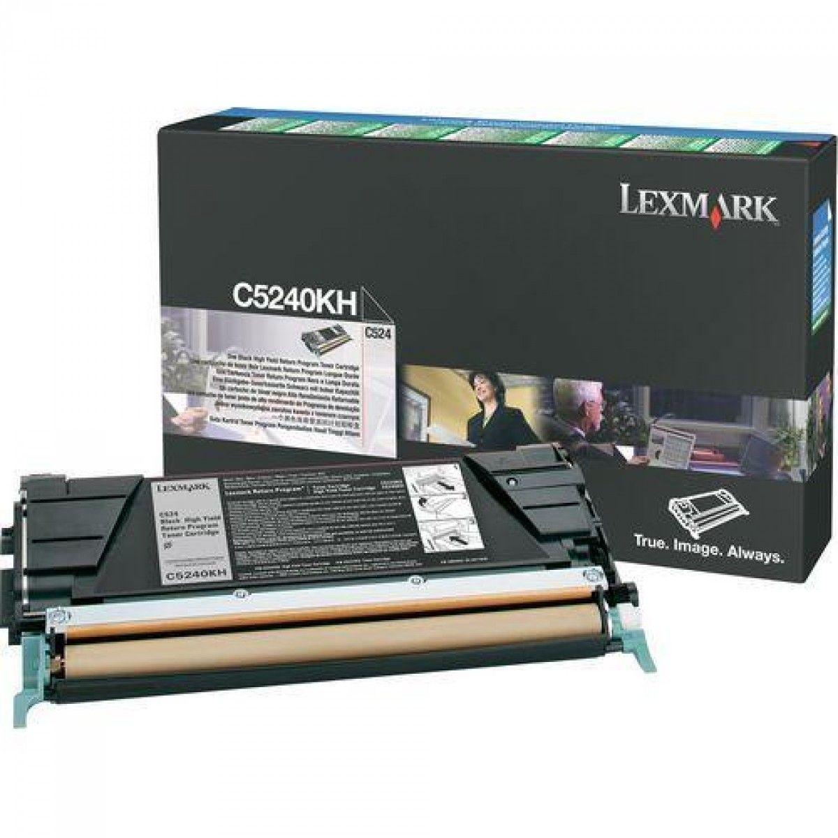 Toner Lexmark Preto - C5240KH