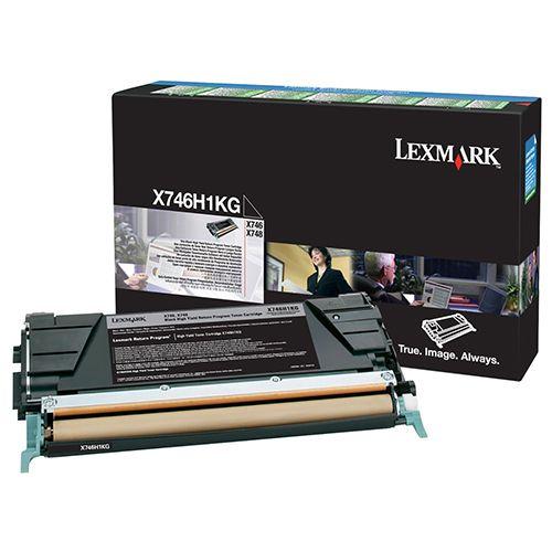 Toner Lexmark Preto de Alto Rendimento X746/X748 - X746H1KG