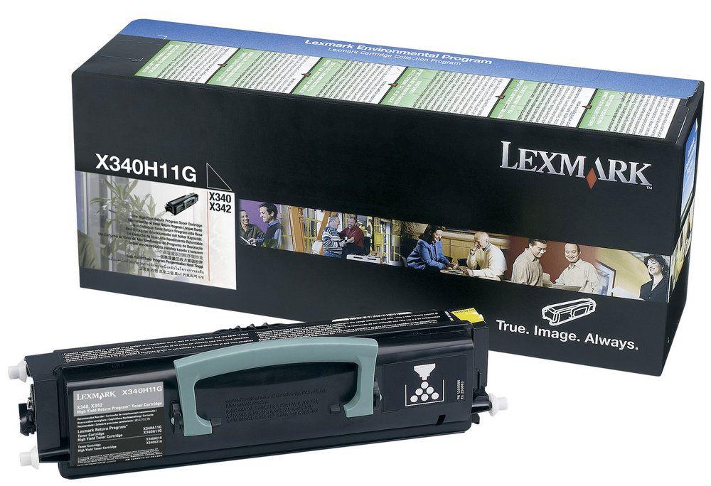 Toner Lexmark X342 Preto - X340H11G
