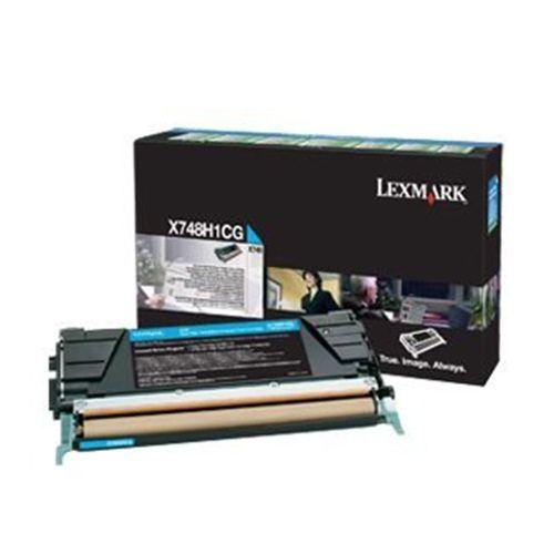 Toner Lexmark X748 Ciano - X748H1CG