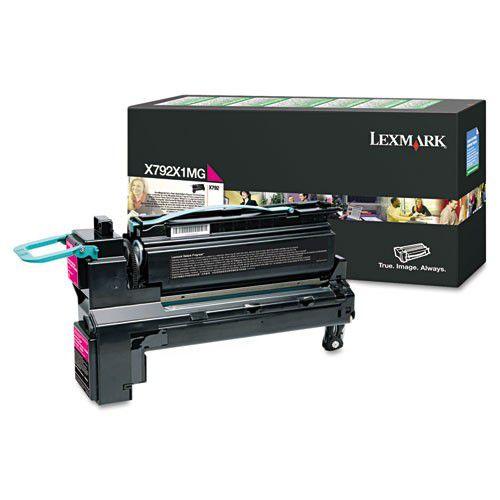 Toner Lexmark X792 Magenta - X792X1MG