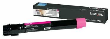 Toner Lexmark Magenta - X950X2MG -22 k