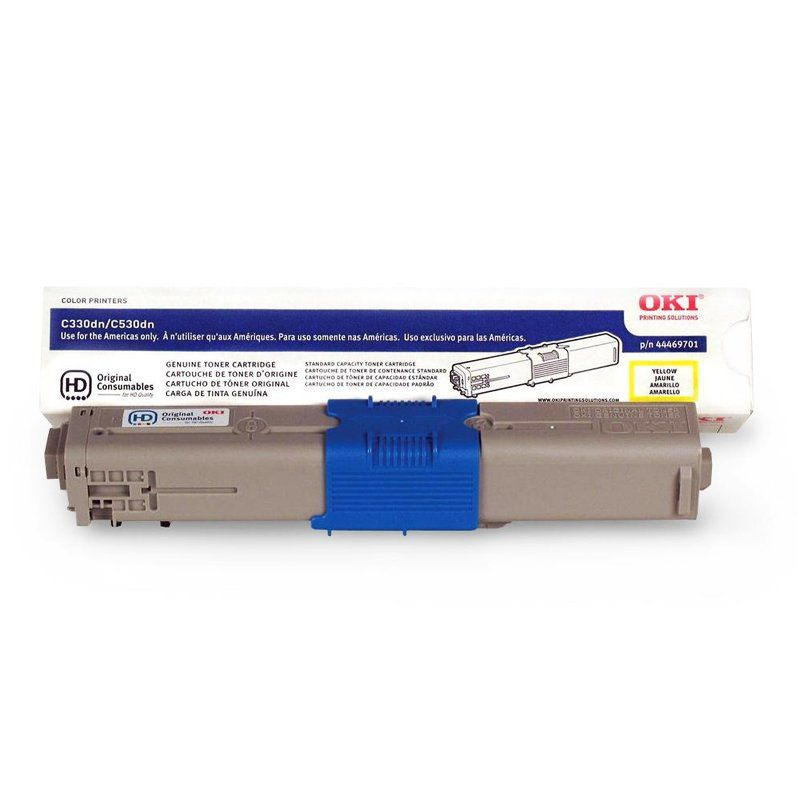 Toner Okidata  Amarelo 3K C330/C331/C530 -  44973593BR