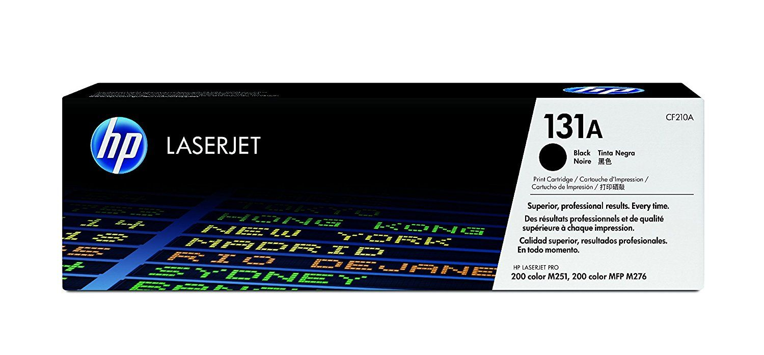 Toner HP Original 131A CF210AB Black